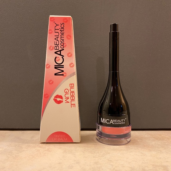 Mica Beauty Other - Mica Beauty Tinted Lip Balm in Bubble Gum